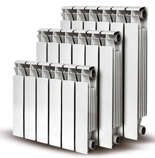 Стандартные радиаторы в новых квартирах